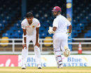 Suranga Lakmal wears a tired expression as Shane Dowrich picks him for four, West Indies v Sri Lanka, 1st Test, Day 2, Port of Spain, June 7, 2018