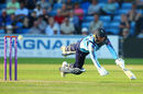 Johnny Tattersall dives to make his ground, Yorkshire v Northants, Royal London Cup, North Group, Headingley, June 7, 2018
