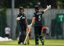 Suzie Bates and Maddy Green get together, Ireland v New Zealand, 1st Women's ODI, Dublin
