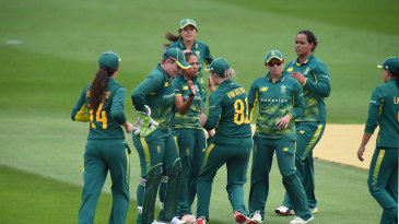 Shabmin Ismail struck early for South Africa
