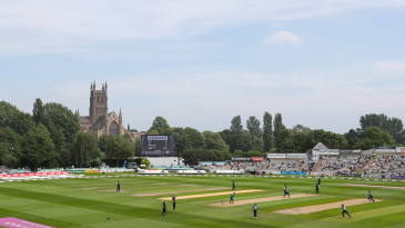 A view of the County Ground in Worcester