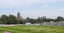 A view of the County Ground in Worcester, England v South Africa, 1st women's ODI, Worcester