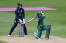 Dane van Niekerk plays a slog-sweep, England v South Africa, 1st women's ODI, Worcester