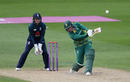 Lizelle Lee lofts one down the ground, England v South Africa, 1st women's ODI, Worcester