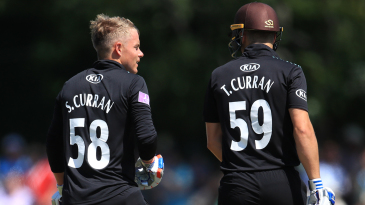 Sam and Tom Curran have a chat