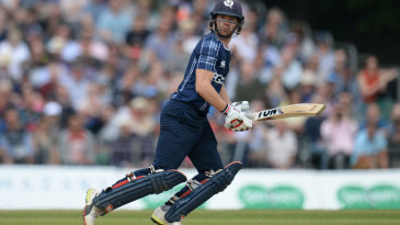 Matt Cross made 48 off just 39 balls
