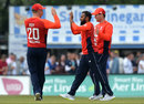 Adil Rashid made the breakthrough in his second over, Scotland v England, Only ODI, Edinburgh, June 10, 2018