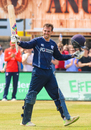 Calum MacLeod became the first Scotland player to score an ODI ton against England, Scotland v England, only ODI, Edinburgh, June 10, 2016