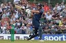 George Munsey pulls during his fifty, Scotland v England, Only ODI, Edinburgh, June 10, 2018