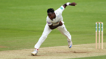 Fidel Edwards summoned a Hampshire response