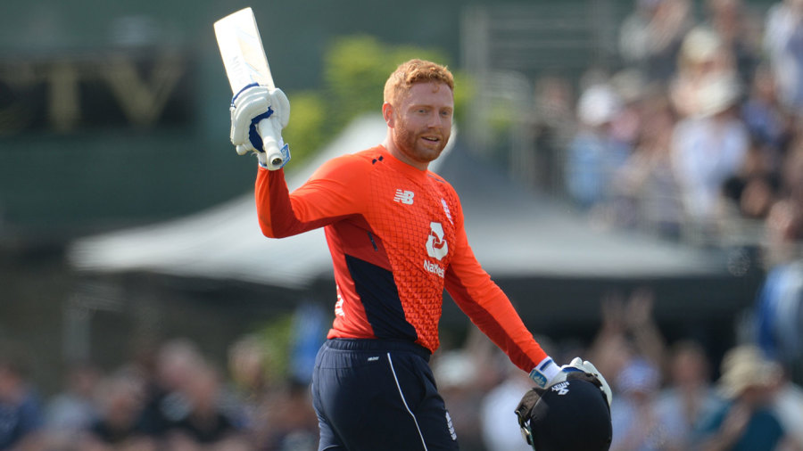 Jonny Bairstow brought up his third consecutive ODI hundred