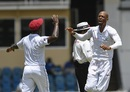 Roston Chase struck twice at the stroke of lunch, West Indies v Sri Lanka, 1st Test, Port of Spain, 5th day, June 10, 2018