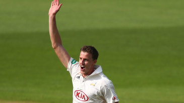Morne Morkel celebrates a wicket