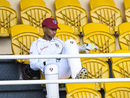 Shane Dowrich looks on before the start of play, West Indies v Sri Lanka, 1st Test, Port of Spain, 5th day, June 10, 2018