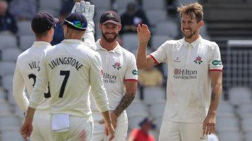 Tom Bailey claimed a four-wicket haul