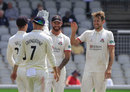 Tom Bailey claimed a four-wicket haul, Lancashire v Essex, County Championship, Division One, Old Trafford, June 11, 2018