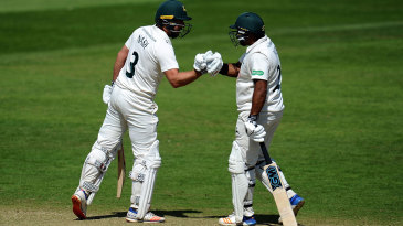 Chris Nash and Samit Patel put on a century stand