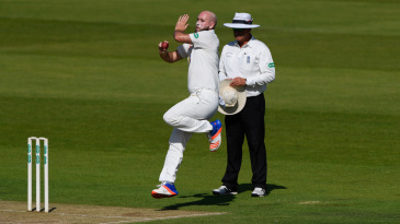 Chris Rushworth in action