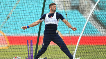 Liam Plunkett was among the England bowlers to get severe punishment against Scotland