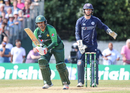 Sarfraz Ahmed found form at the Grange, Scotland v Pakistan, 1st T20I, Edinburgh, June 12, 2018