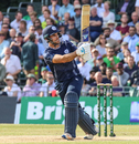 Kyle Coetzer finds a gap on the leg side, Scotland v Pakistan, 1st T20I, Edinburgh, June 12, 2018