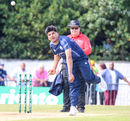 Hamza Tahir had a rough initiation on international debut, Scotland v Pakistan, 1st T20I, Edinburgh, June 12, 2018
