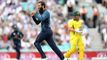 Moeen Ali made quick inroads into Australia