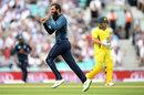 Moeen Ali made quick inroads into Australia, England v Australia, 1st ODI, Kia Oval, June 13, 2018