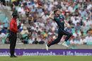 Mark Wood in delivery stride, England v Australia, 1st ODI, Kia Oval, June 13, 2018