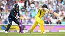 Shaun Marsh was bowled by Moeen Ali, England v Australia, 1st ODI, Kia Oval, June 13, 2018