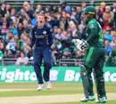 Michael Leask had a big day with the ball against Pakistan, Scotland v Pakistan, 2nd T20I, Edinburgh, June 13, 2018