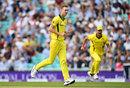 Billy Stanlake struck early for Australia, England v Australia, 1st ODI, Kia Oval, June 13, 2018
