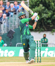 Shoaib Malik clears another six over the leg side boundary, Scotland v Pakistan, 2nd T20I, Edinburgh, June 13, 2018