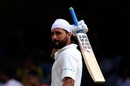 Murali Vijay celebrates his 12th Test century, India v Afghanistan, Only Test, Bengaluru, 1st day, June 14, 2018