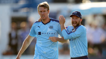 Stand-in skipper Steven Patterson took four wickets