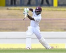 Devon Smith drives, West Indies v Sri Lanka, 2nd Test, Gros Islet, 2nd day, June 15, 2018