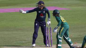 Sarah Taylor pulled off a sensational stumping