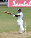Devon Smith whips one off his hips, West Indies v Sri Lanka, 2nd Test, Gros Islet, 2nd day, June 15, 2018