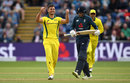 Marcus Stoinis claimed the big wicket of Joe Root, England v Australia, 2nd ODI, Cardiff, June 16, 2018