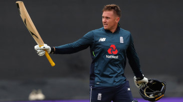 Jason Roy notched his fifth ODI ton