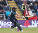 Jos Buttler scooped back-to-back sixes off Jhye Richardson, England v Australia, 2nd ODI, Cardiff, June 16, 2018