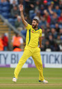 Andrew Tye checked England with two wickets, England v Australia, 2nd ODI, Cardiff, June 16, 2018