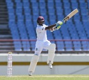 Shane Dowrich slaps through the off side, West Indies v Sri Lanka, 2nd Test, Gros Islet, 3rd day, June 16, 2018