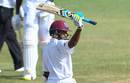 Shane Dowrich celebrates his half-century, West Indies v Sri Lanka, 2nd Test, Gros Islet, 3rd day, June 16, 2018