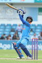 Ishan Kishan plays the ramp, ECB XI v India A, Tour match, Headingley, June 17, 2018