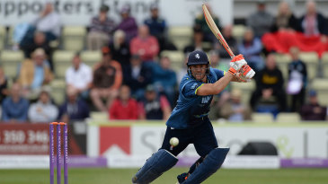 Heino Kuhn made his fourth one-day hundred in five innings