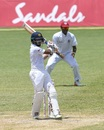 Kusal Mendis nails a pull, West Indies v Sri Lanka, 2nd Test, St Lucia, 4th day, June 17, 2018