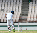 Kusal Mendis was bowled by Shannon Gabriel, West Indies v Sri Lanka, 2nd Test, St Lucia, 4th day, June 17, 2018