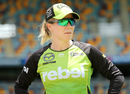 Alex Blackwell, the Sydney Thunder captain, Heat v Thunder, Women's BBL, Brisbane, January 27, 2018