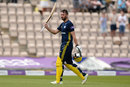 James Vince walks off after making 171 from 126 balls, Hampshire v Yorkshire, Royal London Cup semi-final, Ageas Bowl, June 18, 2018